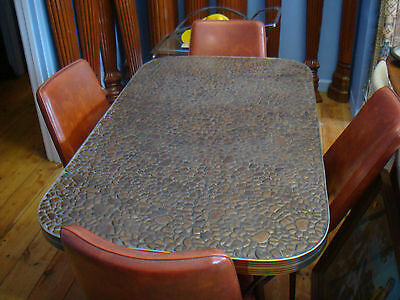 RETRO VINTAGE 50's DINING SUITE /TABLE/CHAIRS