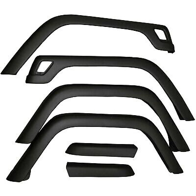 Replacement Fender Flare Flares Kit with hardware for Jeep Wrangler TJ 1997-2006