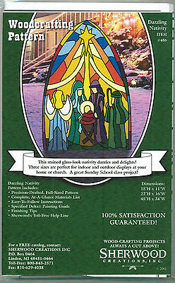 Dazzling Christmas Nativity Woodworking Plans by Sherwood Creations