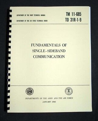 Single-Sideband Communications Army Manual HAM RADIO