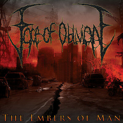 Embers Of Man - Face Of Oblivion (2011, CD NEUF)