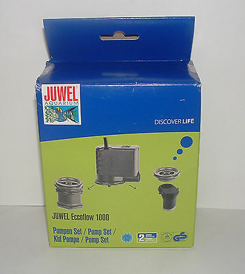 JUWEL AQUARIUM ECCOFLOW PUMP 1000 SET. Replacement Powerhead.