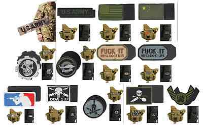 US Army Aufnäher Badge Patch mit Klett USA Armee Sticker Paintball Lasertag