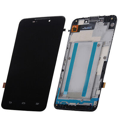 LCD Touch Digitizer Screen+Frame Bezel for ZTE MAX Boost Mobile N9520 5.7'' Part