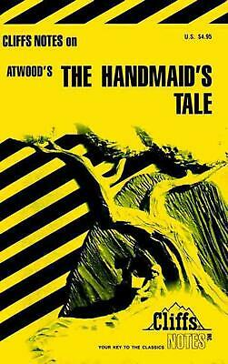 Handmaid's Tale by Cliffs Notes (English) Paperback Book Free Shipping!