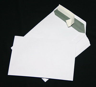 100 St Envelopes, Envelopes C5/A5 White Self-Adhesive 162 X 229 mm