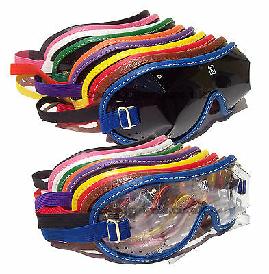 Kroops Triple Slot XC Racing Cross Country Eventing Goggles |Choice of trims