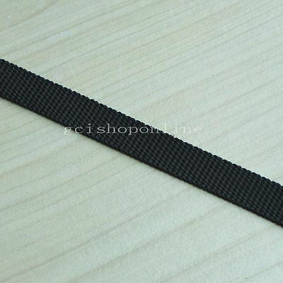 "10 25 50 E Yard Polypropylene Webbing Belt Strap Buckle Strapping 1/2"" 5/8"" 3/4"""