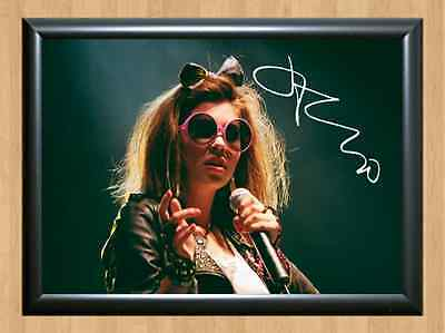 Marina And The Diamonds Signed Autographed A4 Print Poster Music Photo Singer