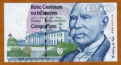 Ireland Republic, 50 pounds, 2001, P-78 (78b), UNC