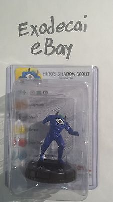 Hiro's Shadow Scout 007 Common Yugioh Series 1 One Heroclix Complete W/ Card
