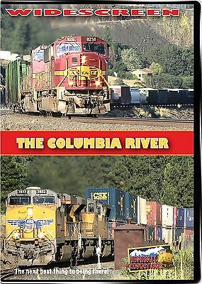 Columbia River Bnsf & Union Pacific New Dvd Highball Productions