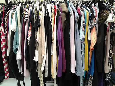 60 pieces Wholesale Job Lot MIXED clothing ... ideal for resale ..