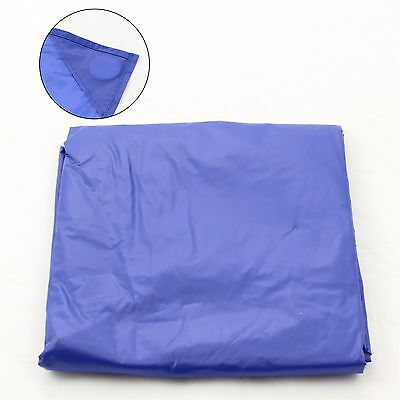 7Ft Blue Nylon Weighted Pool Or Snooker Table Cover