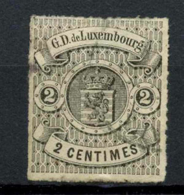 Luxembourg 1865-71 SG#17, 2c Black Used #A65285
