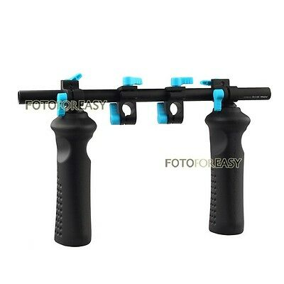 FOTGA DP3000 Front Handle Hand Grip Stabilizer Clamp for 15mm Rod DSLR Rail Rig
