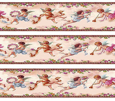 Dolls House Wallpaper Border 77 ins long  Quality Paper 1/12th 1/24th B06