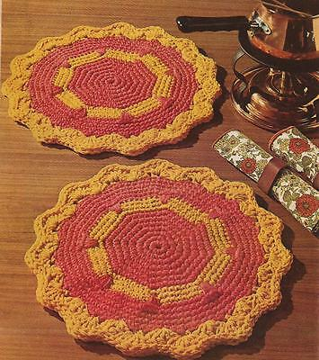 ROUND PLACEMAT PATTERN FREE PATTERNS