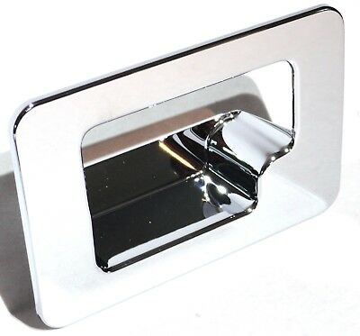 glove box latch trim cover chrome plastic for Peterbilt 00-05 Kenworth 2002+