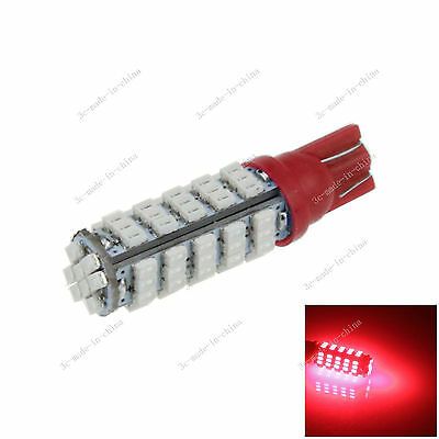 Car Red 68 LED 1206 SMD T10 W5W Wedge Side Light Bulb Lamp A051