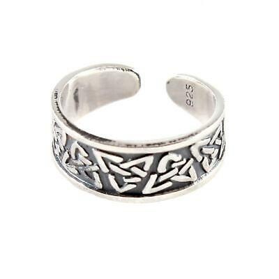 Sterling Silver Toe Ring - Celtic Design - BOXED