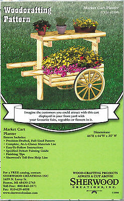 Landscape Timber Market Cart Woodworking Plans by Sherwood Creations