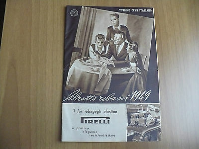 Touring Club Italiano Libretto Ribassi 1949 Illustr.dudovich Carpano Lambretta