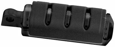 Kuryakyn Trident Large ISO Foot Pegs With Male Mount Black For Harley-Davidson
