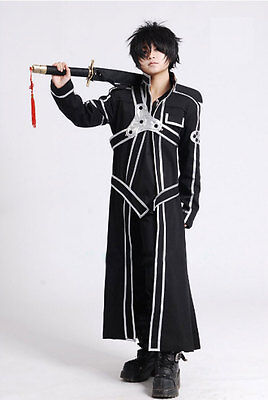 Another Me Sword Art Online Kirito Anime Cosplay Costume Top Quality  M
