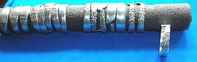 set of 8 napkin rings south seas   ONLY