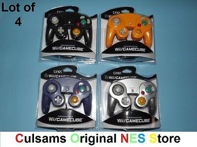 4 New Nintendo Controllers For Wii Or Gamecube With A 30 Day Guarantee