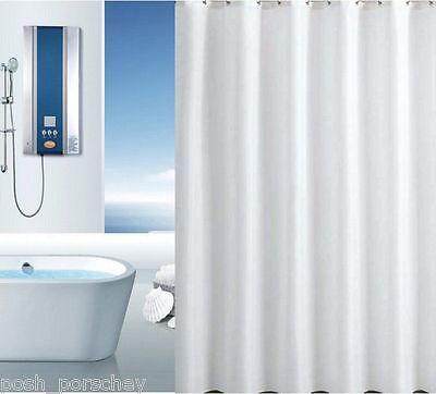 Quality Xl Large Extra Long Wide White Polyester Shower Curtain 300 250 220 200