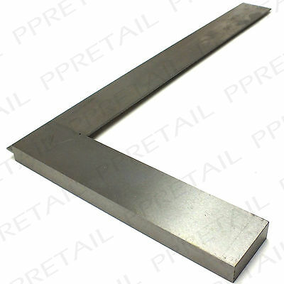 "Large 12"" Engineer Square ★HARDEND STEEL★ Tri Try Right Angle Straight Line 30cm"