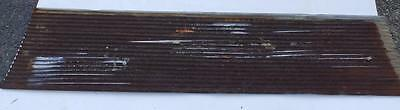 Vintage 8' Corrugated Roof Panel Tin Old Rusty Metal Restaurant Decor 3301-14