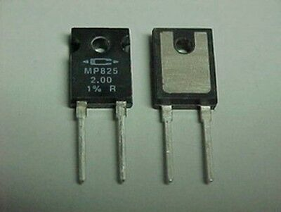 10 Caddock MP825 2.00 Ohm 1% 25W Power Film Resistors