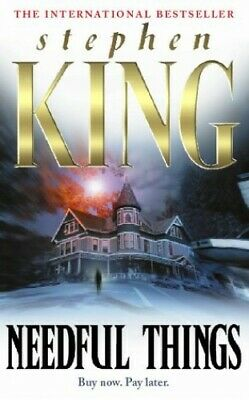 Needful Things, King, Stephen Paperback Book The Cheap Fast Free Post