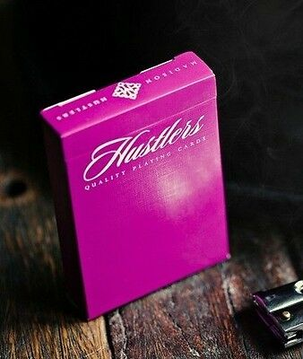 Bicycle Ellusionist Madison Purple Hustlers US Playing Cards Magic Poker NEW