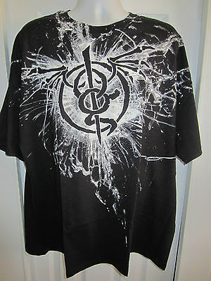 Hot Topic:   Lamb of God Glass All Over  T-Shirt