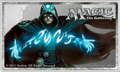 MTG Jace the Mind Sculptor 1oz Silver Coin - Limited QTY