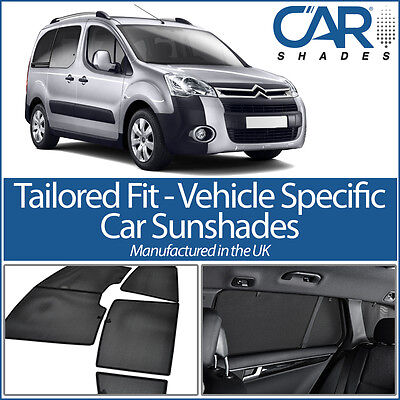 Citroen Berlingo 5dr 08-18 UV CAR SHADES WINDOW SUN BLINDS PRIVACY GLASS TINT