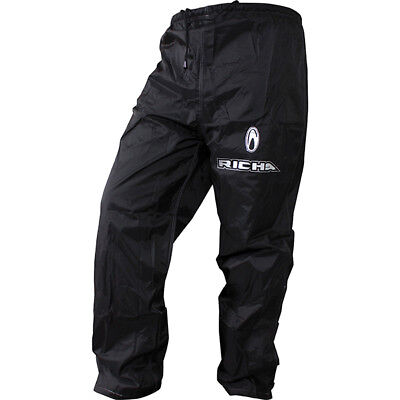 Richa Rain Warrior Waterproof Motorcycle Motorbike Trousers Black