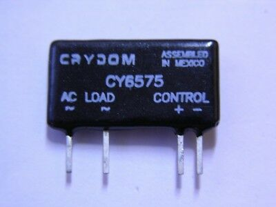 4 Crydom ASO241 / CY6575 4-10VDC Control 12-280VAC Load Mini SIP Solid State Rel