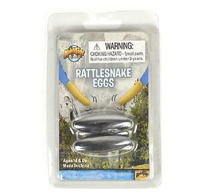 2 RATTLESNAKE EGGS Magnets Hermatite Buzzing Magnetic Orb #AA30A Free Shipping