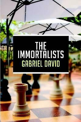 The Immortalists by Gabriel David (English) Paperback Book Free Shipping!