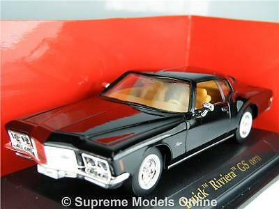 Buick Riviera Gs 1971 Model Sports Car 1/43Rd Scale Packaged Issue Bxd K8967Q~#~