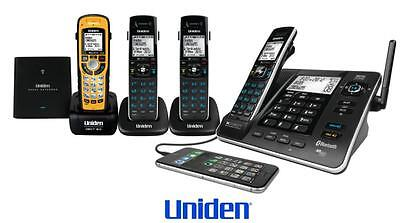 Uniden Xdect 8355+3Wpr 1.8Ghz 4 Handsets Digital Corldess Phone+Answer Machine