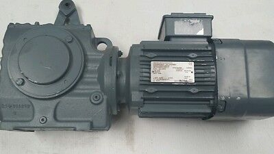 Sew eurodrive gearbox with brake motor 1.5kw 3 ph 41rpm output 40mm hollow bore