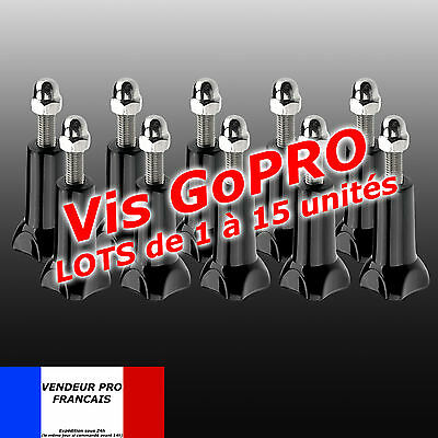 Vis Gopro Vis + ecrou Screw Origine support GoPro Hero 3 4 5 6 7  perche trepied