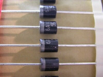 80 Taiwan Semiconductor 6A100 1000V 6A Silicon Rectifier Diodes