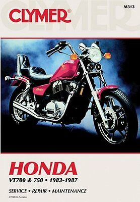 clymer repair service shop manual honda vt700c shadow 84 85 86 87 clymer repair manual for honda vt700 vt750 shadow 83 87
